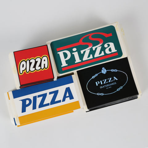 Pizza Sticker Pack - PIZZA SKATEBOARDS