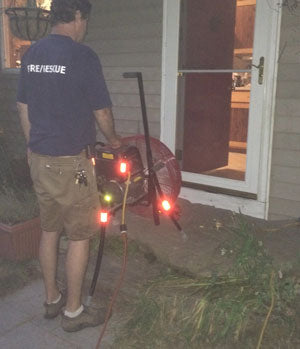 James uses e-fan 20EM3550 to cool his house during hot summer nights.