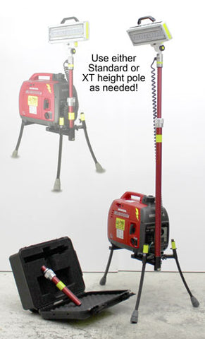 A 2-in-1 Lentry Light Tower, 2SPECX+S-C, will be demonstrated at ICUEE by the friendly staff of Ventry Solutions, Inc.