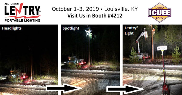 All-terrain Lentry Lighting Systems at ICUEE 2019