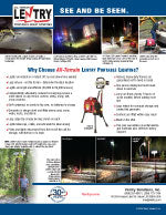 LENTRY Lighting Systems Construction & Utility Flyer