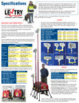 Lentry Light Tower / Generator and Light System Specifications, all models