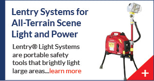 Lentry Generator Light Towers for all-terrain scene lighting and backup power, manufactured by Ventry Solutions.