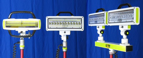 Choose from V-Star, V-Spec, and 2-Headed V-Spec LED lights on your LENTRY Light