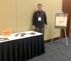 James outside the classroom at FDIC