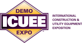 ICUEE logo - courtesy icuee.com - International Construction and Utility Equipment Expo
