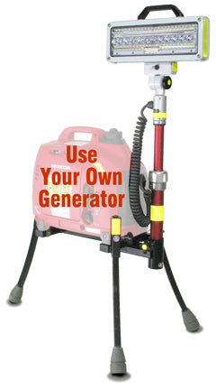 Make your generator into a portable light system!