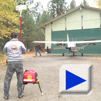 Wind rating and wind testing of Lentry Light Stands