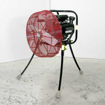 20-inch Ventry PPV Fan 20GC160 with legs extended, facing left