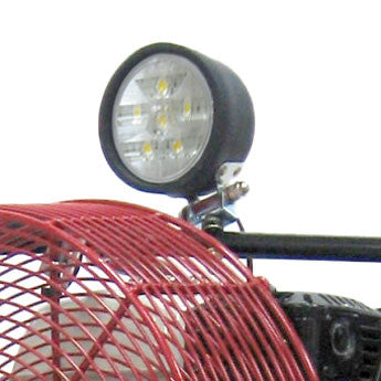 Close-up of LED on a Ventry PPV Fan