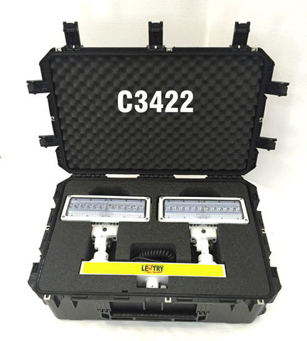 Lentry V-Spec case C3422 with 2-Headed V-Spec LED inside