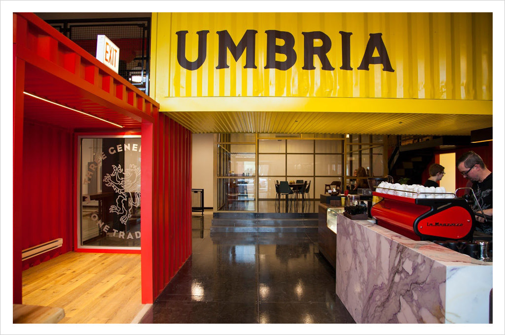 Caffe Umbria Cafe | Roastery | Training Lab on Armitage Ave in Logan Square