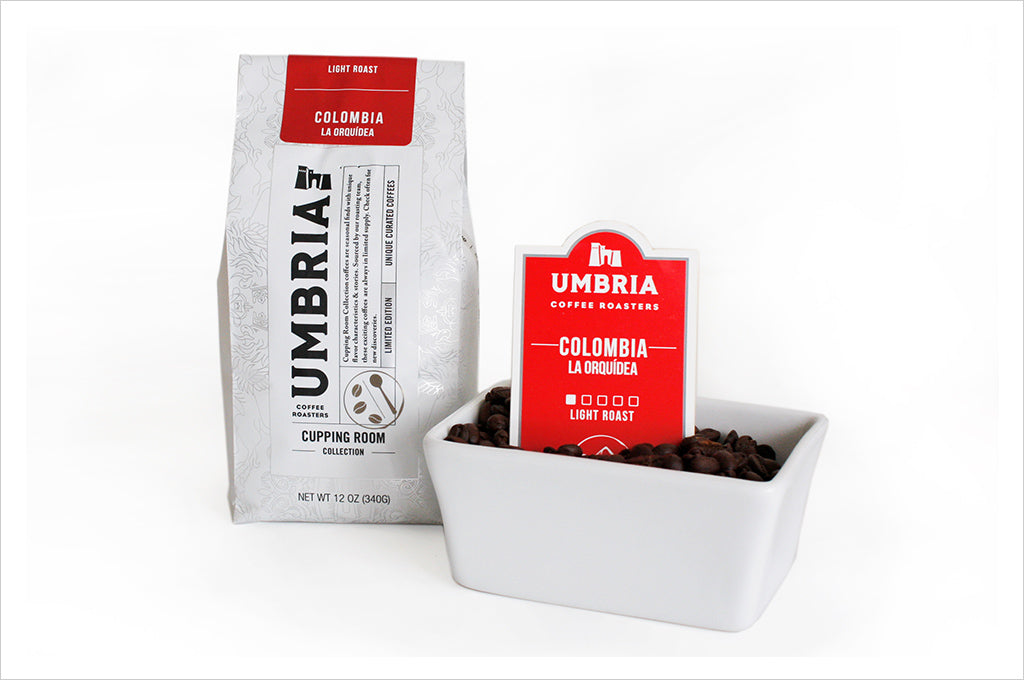 Colombia La Orquidea Light Roast Coffee from the Cupping Room Collection