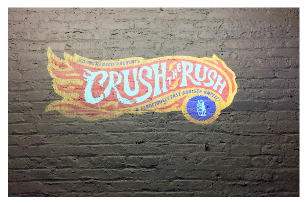 Crush the Rush Chicago, a La Marzocco barista competition