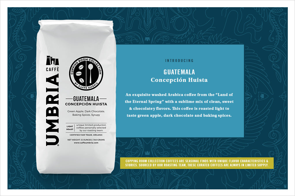 Caffe Umbria Cupping Room Collection - Guatemala Concepcion Huista