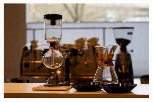 Coffee Gear at our Portland Training Lab