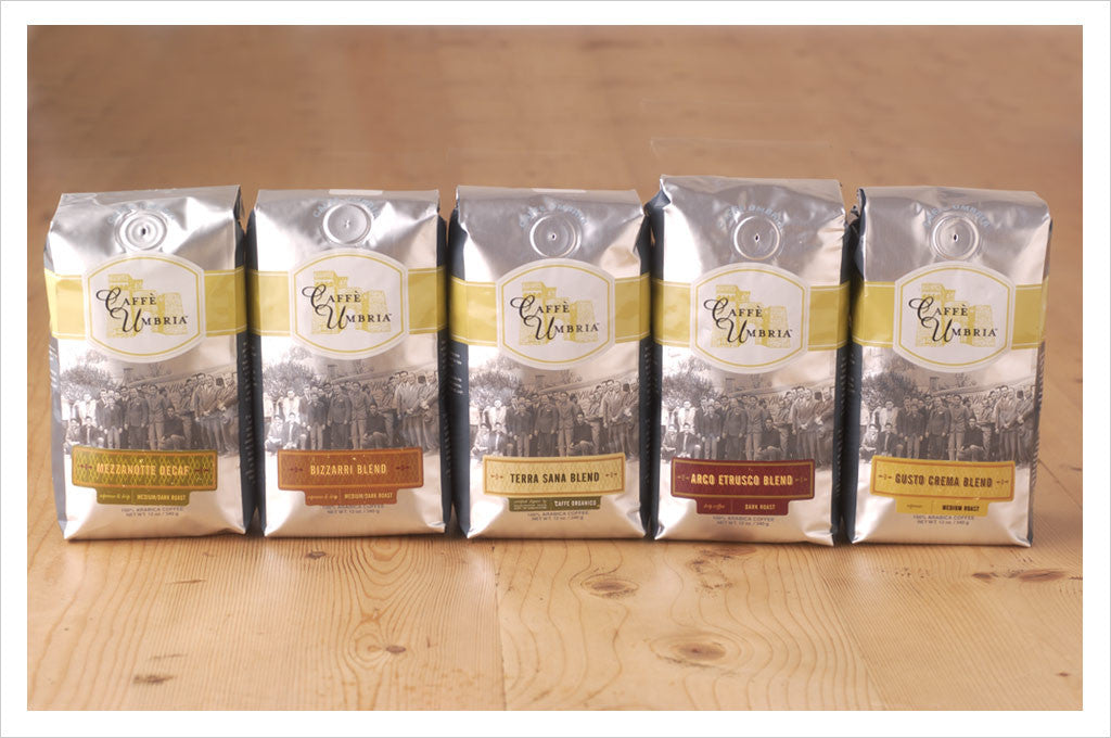 Original Caffe Umbria Packaging