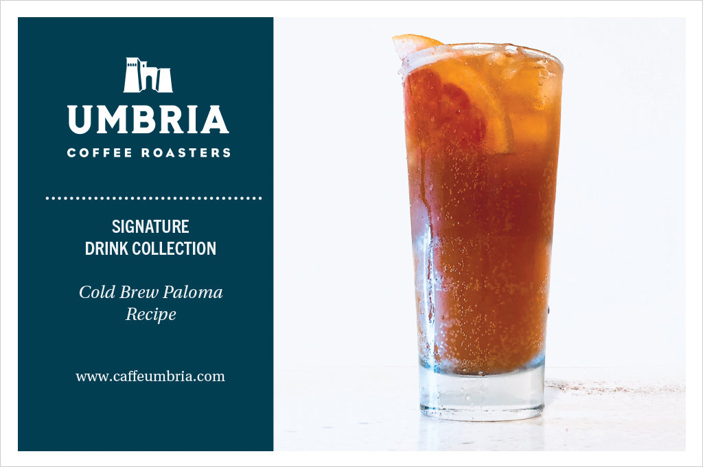 Caffe Umbria Signature Drink Collection - Cold Brew Paloma