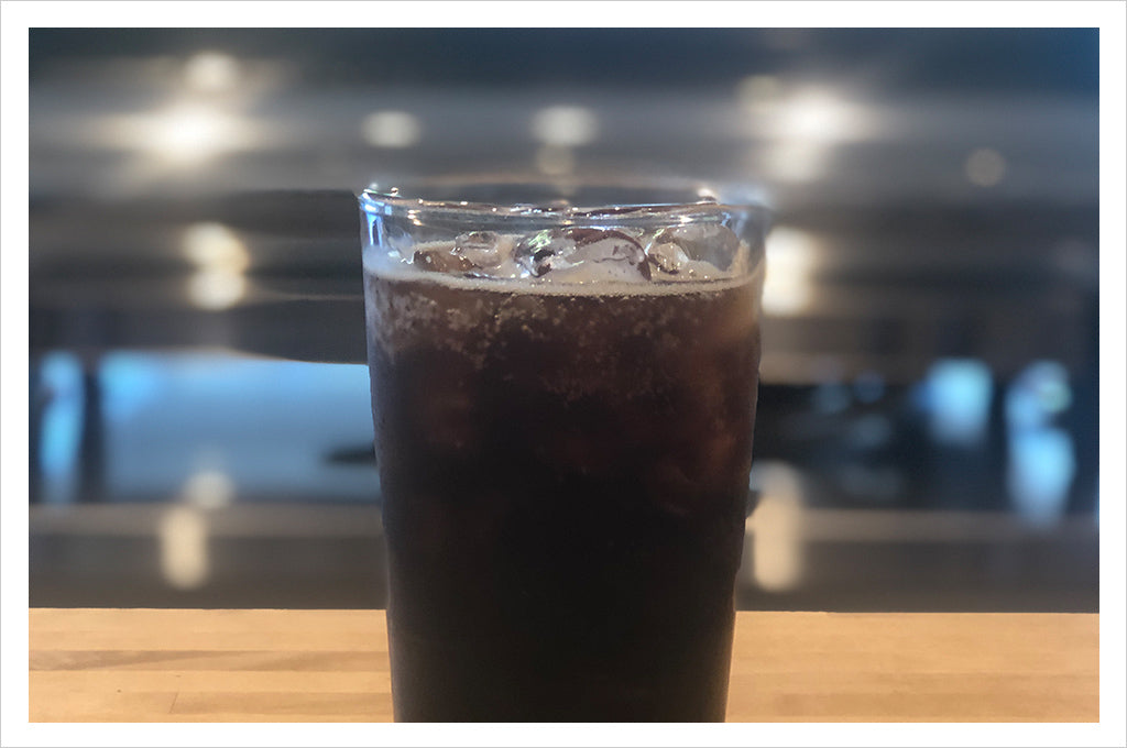 Cold Brew Spritz recipe - concentrate