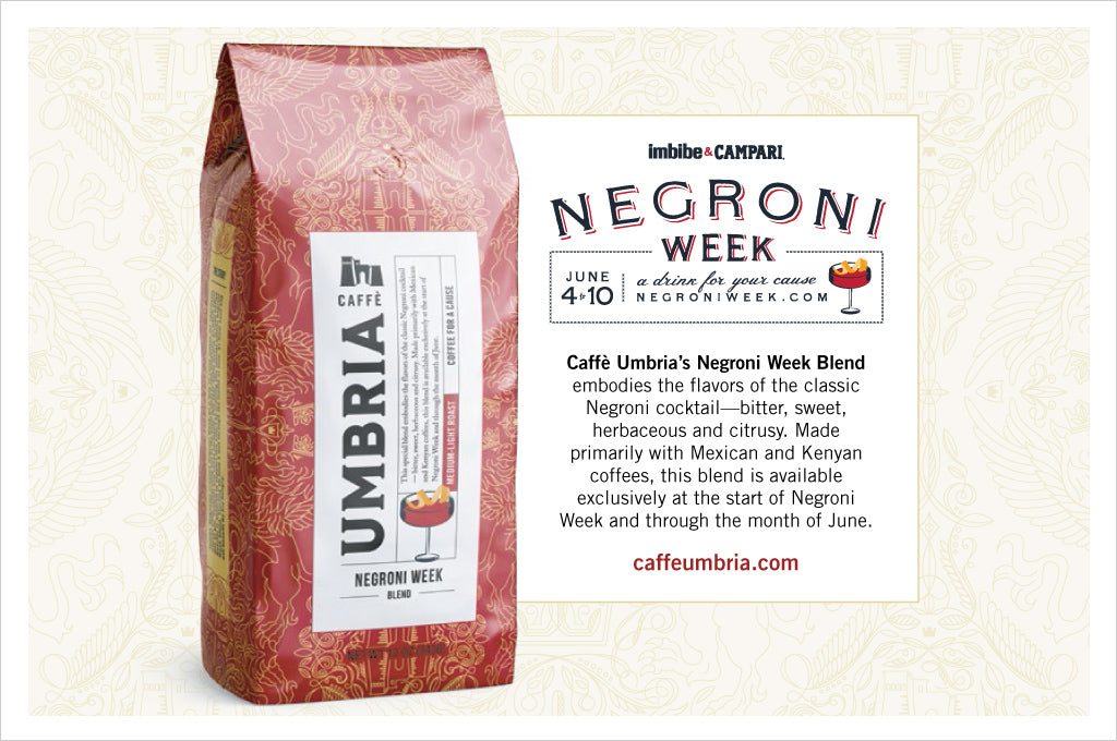 Negroni Week 2018 Special Edition Coffee from Caffe Umbria - Negroni Week Blend