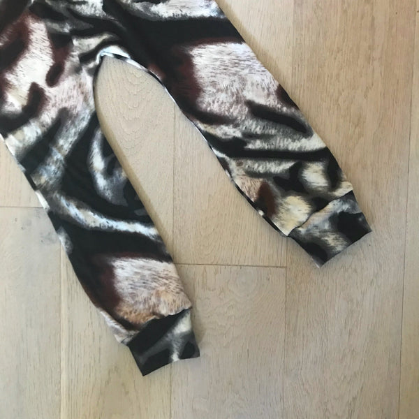 Animal Print Handmade Leggings