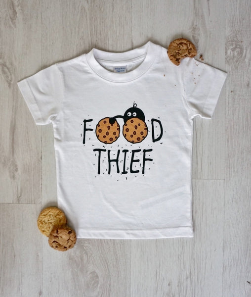 Food Thief Unisex Baby and Toddler Tee
