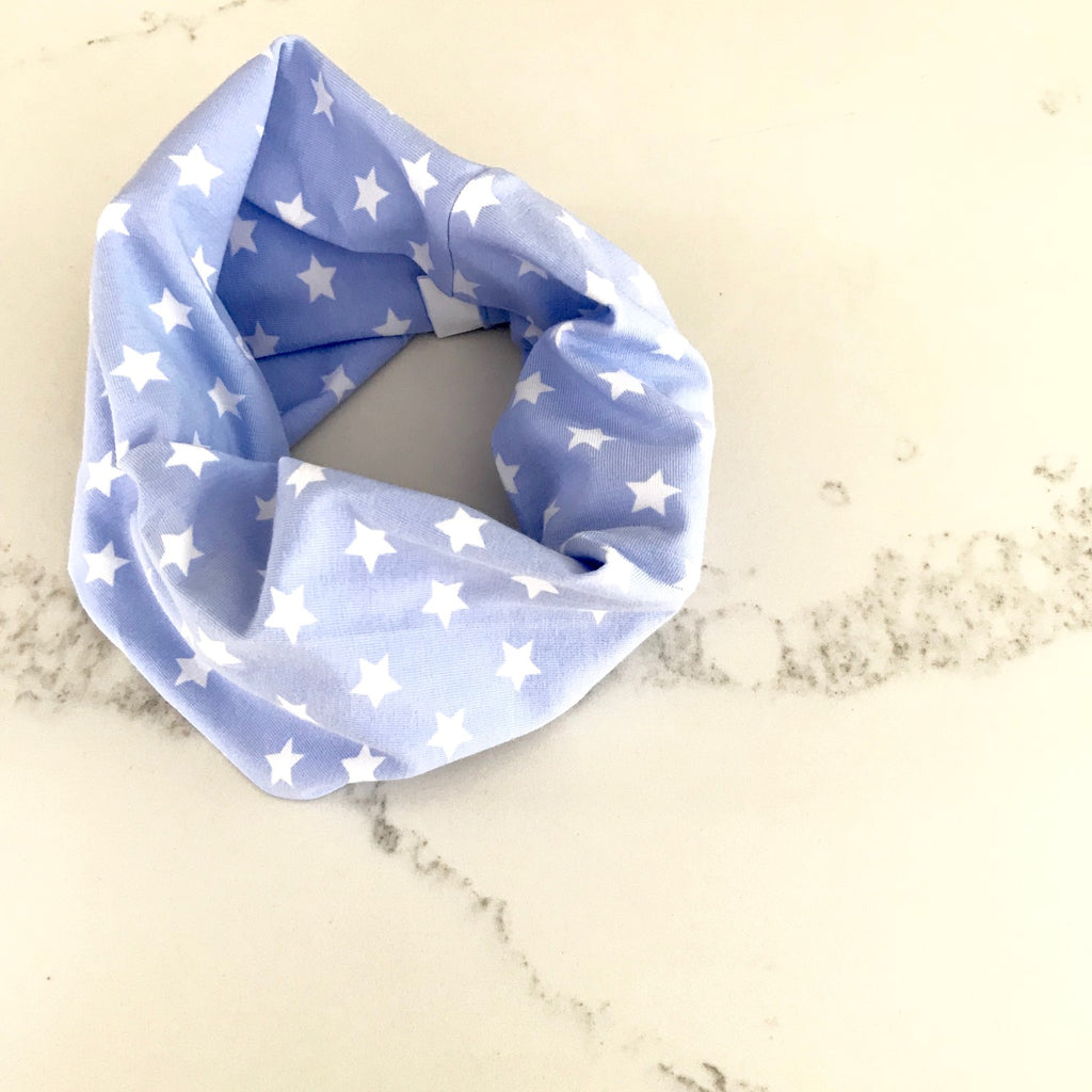 Baby Blue Star Baby & Toddler Infinity Scarf