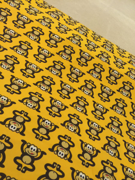 Yellow Marvin the Cheeky Monkey Adult Leggings