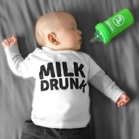 'Milk Drunk' Unisex Baby & Toddler Tee