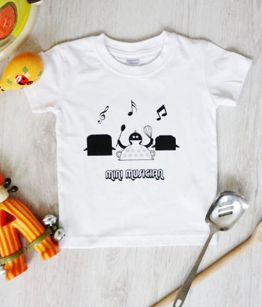 Mini Musician Baby and Toddler Tee