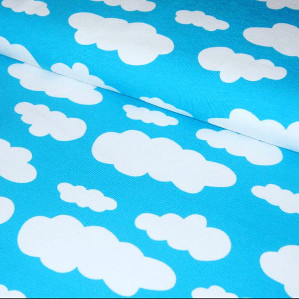 Baby and Toddler Unisex Baby Brain Blue Clouds Handmade Leggings