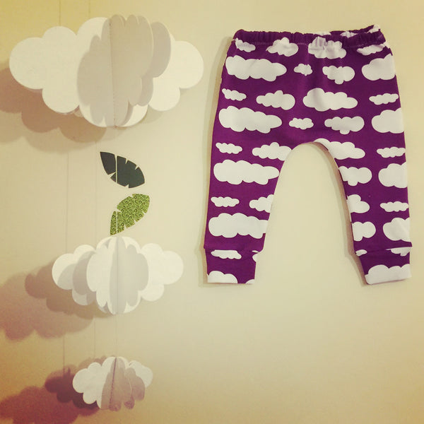 Purple Cloud Baby & Toddler Leggings