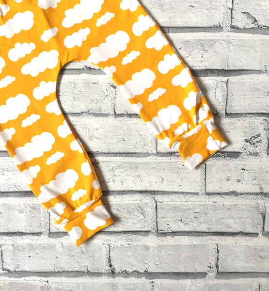 Yellow Cloud Baby & Toddler Leggings