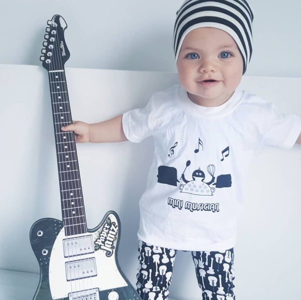 'Mini Musician' Unisex Baby & Toddler Tee