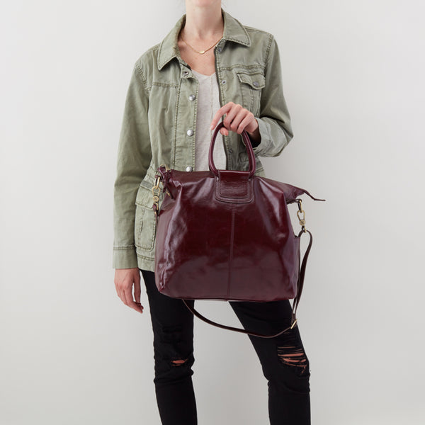 Hobo Bag Holiday Plum