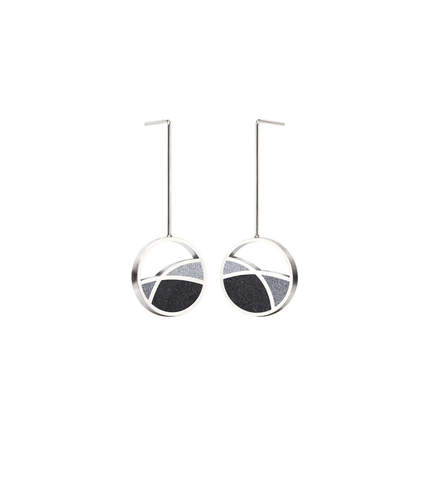 Frank Lloyd Wright March Balloons Earrings, Small