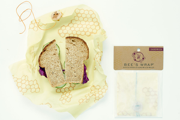 Beeswax Reusable Sandwich Wrap