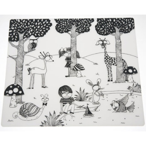 Kids Mark Mat Set, 12x16, Day at Pond
