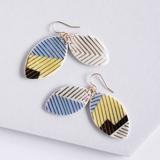 Striped Duo Earrings
