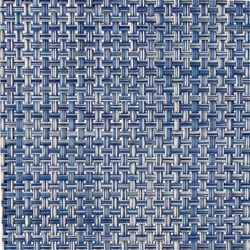 Placemat, Basketweave, Denim, Rectangle
