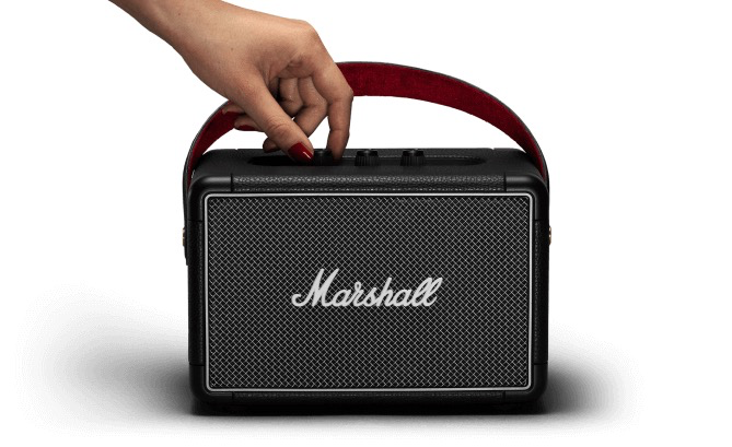 Marshall Kilburn II, Portable Bluetooth Speaker, Black