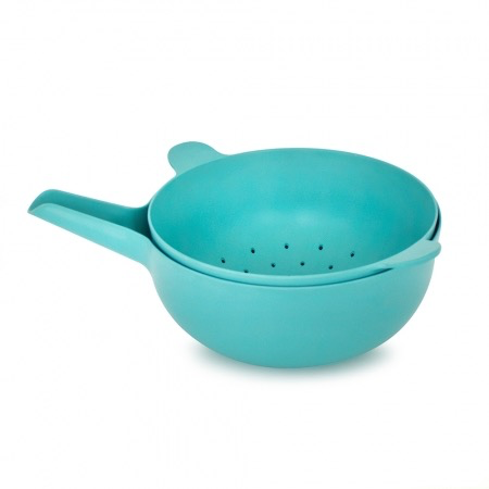 Handy Bowl and Colander Set, Lagoon