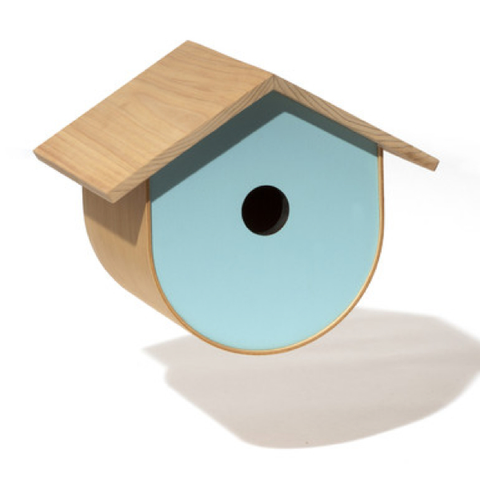 BirdHome Urban Walnut - Blue