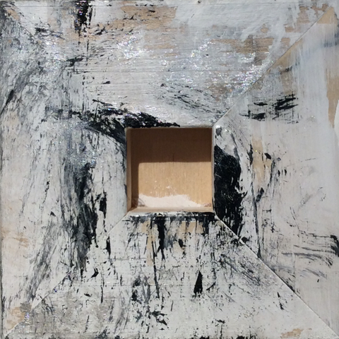 Inside, 4x4, Frances Smersh