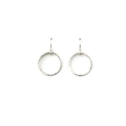 Classic Circle Earrings, Medium