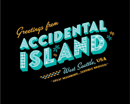 Accidental Island, West Seattle T-Shirt