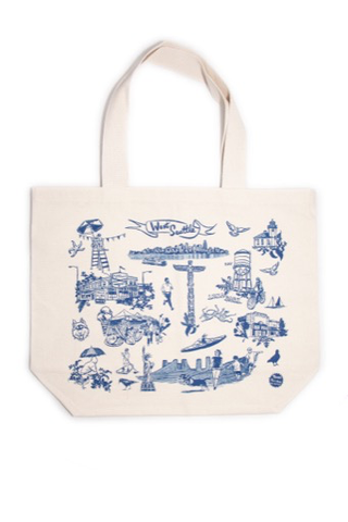 West Seattle neighborhood tote, natural