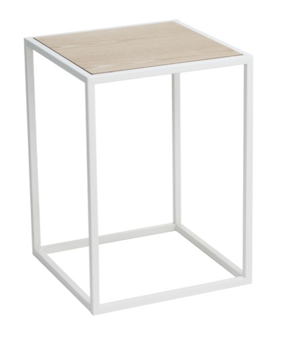 Square Coffee Table, White
