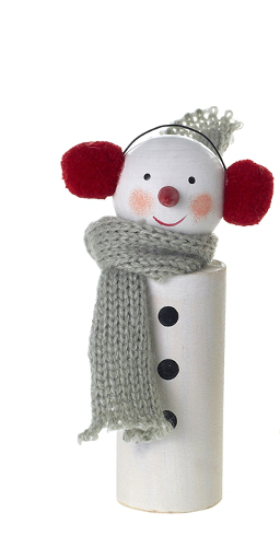 Bundled Snowman