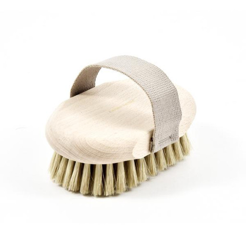 Beechwood + Silk Fiber Massage Brush